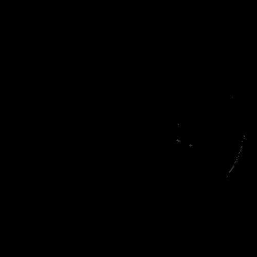 ピザ イラスト モノクロ 白黒