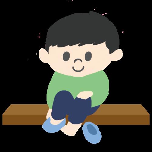 靴 脱ぐ イラスト 子供