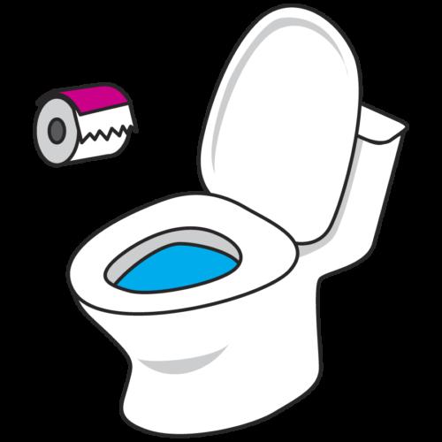洋式トイレ イラスト かわいい