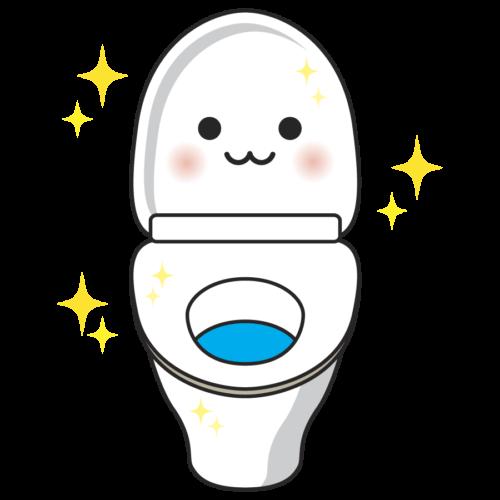 トイレ きれい イラスト