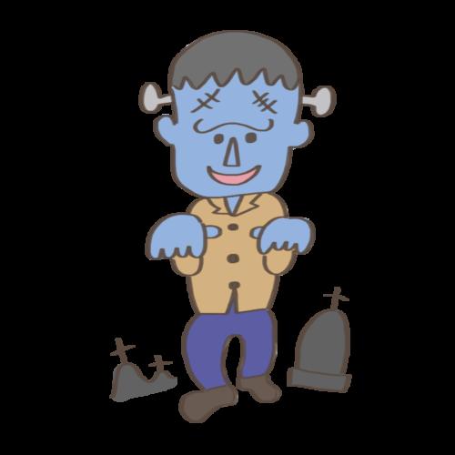 フランケンシュタイン 怪物 イラスト 仮装