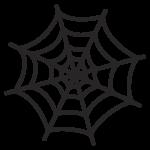 蜘蛛の巣 イラスト かわいい