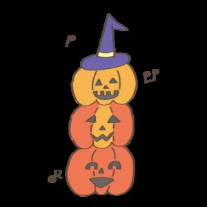 ハロウィン かぼちゃ お化け イラスト