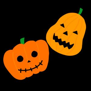ハロウィン かぼちゃ イラスト かわいい