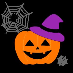 ハロウィン かぼちゃのお化け イラスト