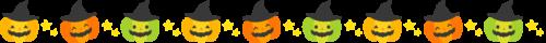 かぼちゃ ライン イラスト 罫線