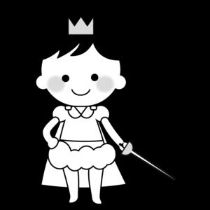 生活発表会 イラスト モノクロ 白黒 保育園 幼稚園 劇 男の子
