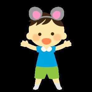 生活発表会 イラスト かわいい 保育園 幼稚園 子供 男の子 お遊戯会