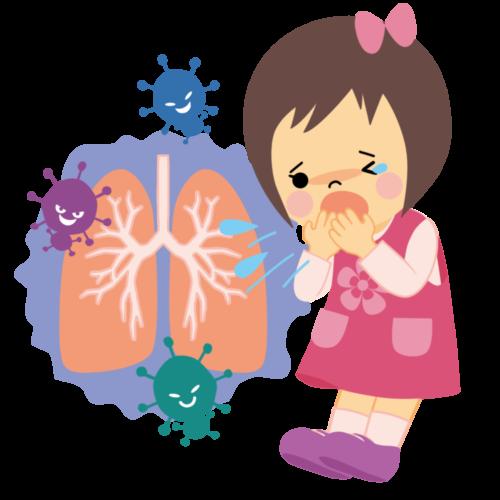 小児肺炎 イラスト かわいい