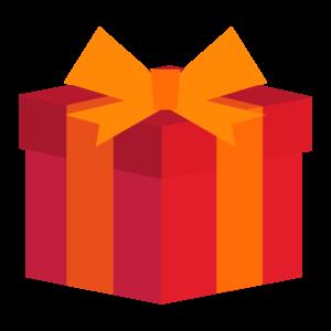 クリスマスプレゼントの可愛いイラスト