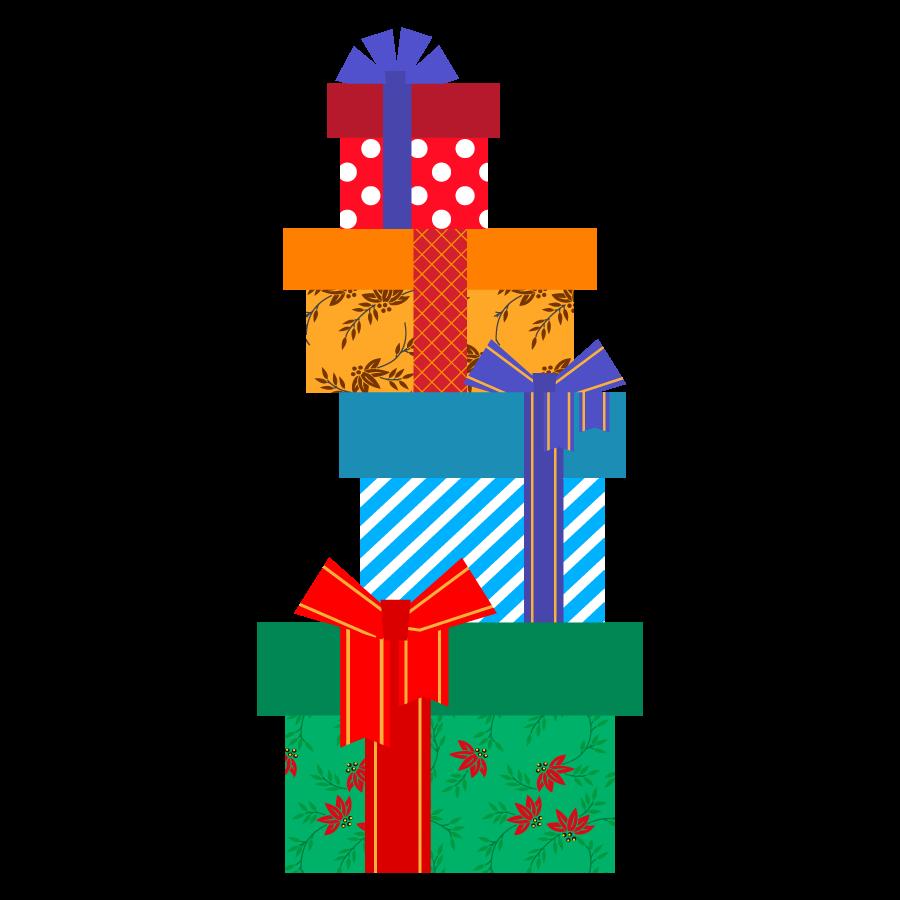 クリスマスプレゼントのかわいいイラストまとめ