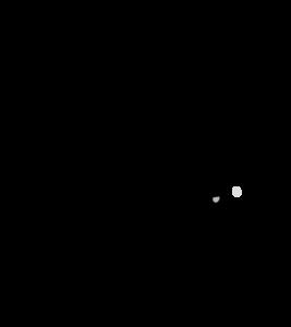 保育士に挨拶する子供のイラスト 保育園 幼稚園 女の子 帰りの会 モノクロ 白黒