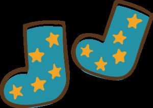 靴下 イラスト かわいい 子供 男の子 星