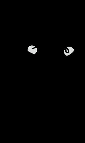O157 イラスト 白黒