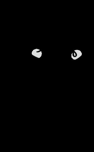 お腹壊す イラスト 白黒 モノクロ