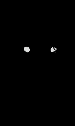 腹痛 イラスト 白黒 モノクロ