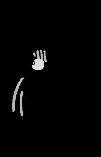 食中毒 イラスト 白黒