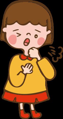 咳 イラスト かわいい 子供