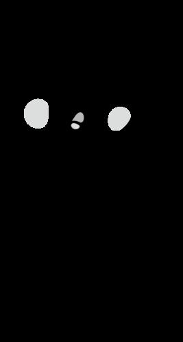 咳 イラスト 白黒 モノクロ