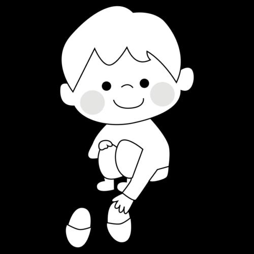 スリッパ 揃える イラスト 子供