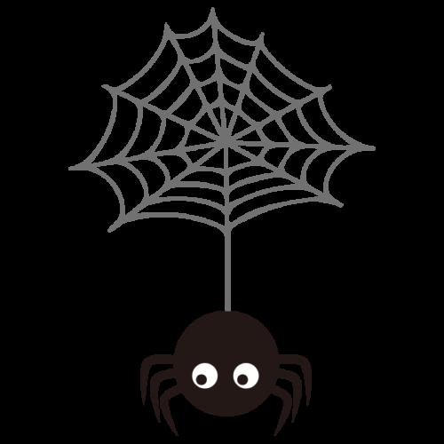 蜘蛛 イラスト かわいい