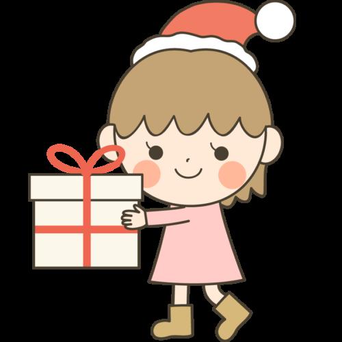 クリスマスプレゼント 子供 イラスト かわいい
