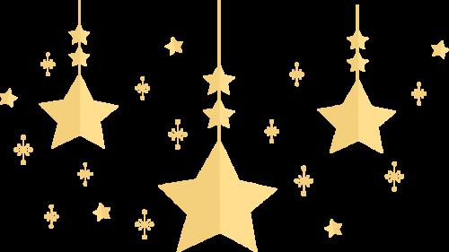 星 オシャレ イラスト