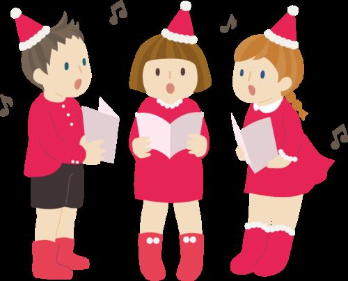 クリスマス 歌 イラスト