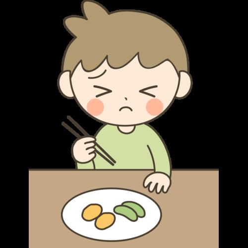 食べ物 好き嫌い 子供 イラスト 無料 フリー