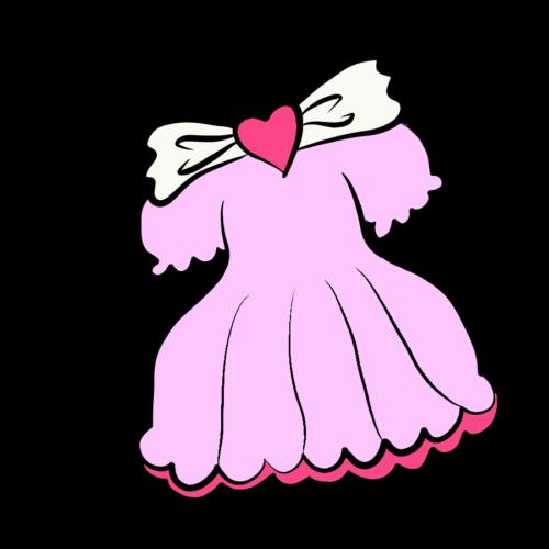 ドレス 女の子 イラスト 無料 フリー