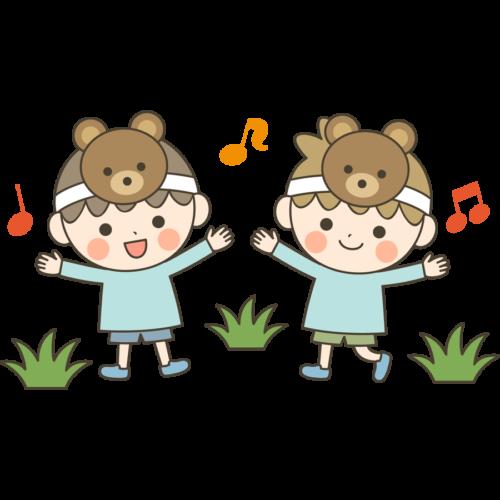 幼稚園 保育園 お遊戯会 イラスト