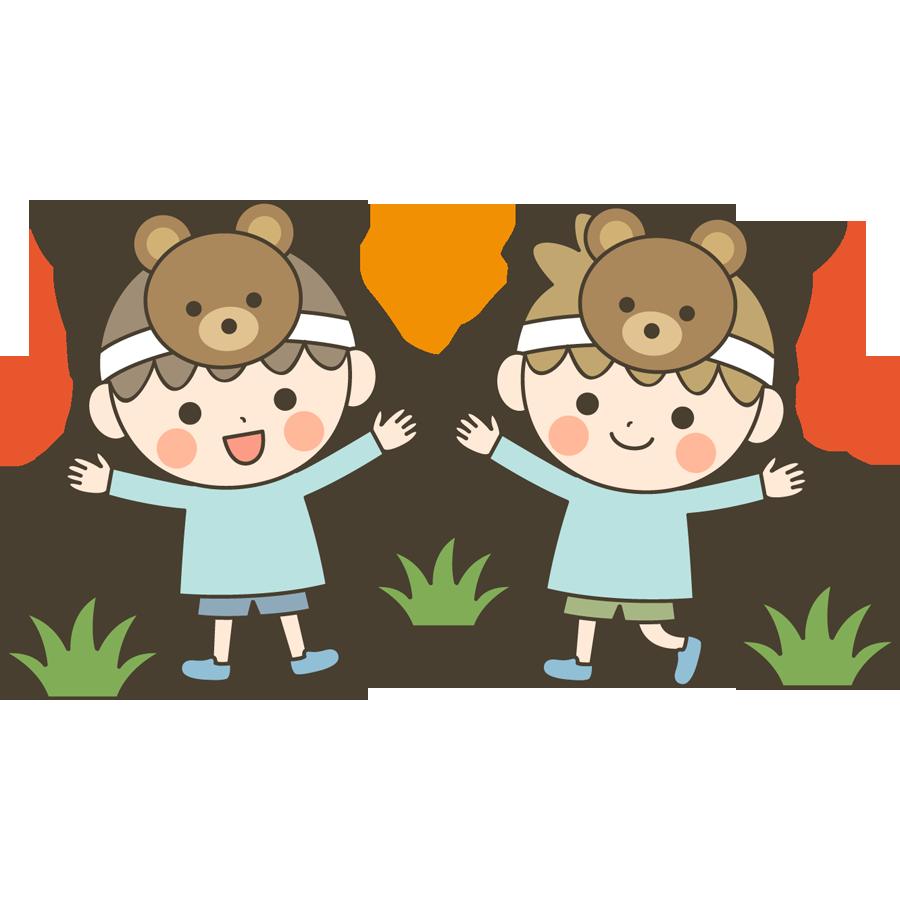 幼稚園や保育園のお遊戯会のイラスト画像素材 フリー 無料