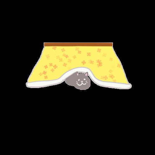 コタツ 猫 イラスト 無料