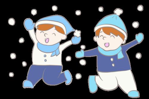 保育園 雪 イラスト 幼稚園