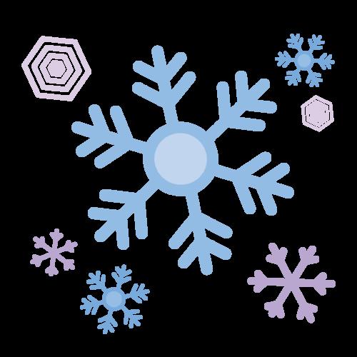 雪 結晶 イラスト 無料 フリー