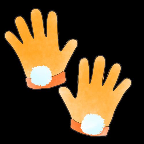 手袋 イラスト かわいい 無料 フリー