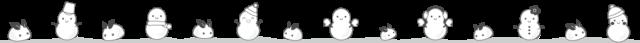 雪だるま ライン イラスト 白黒 モノクロ