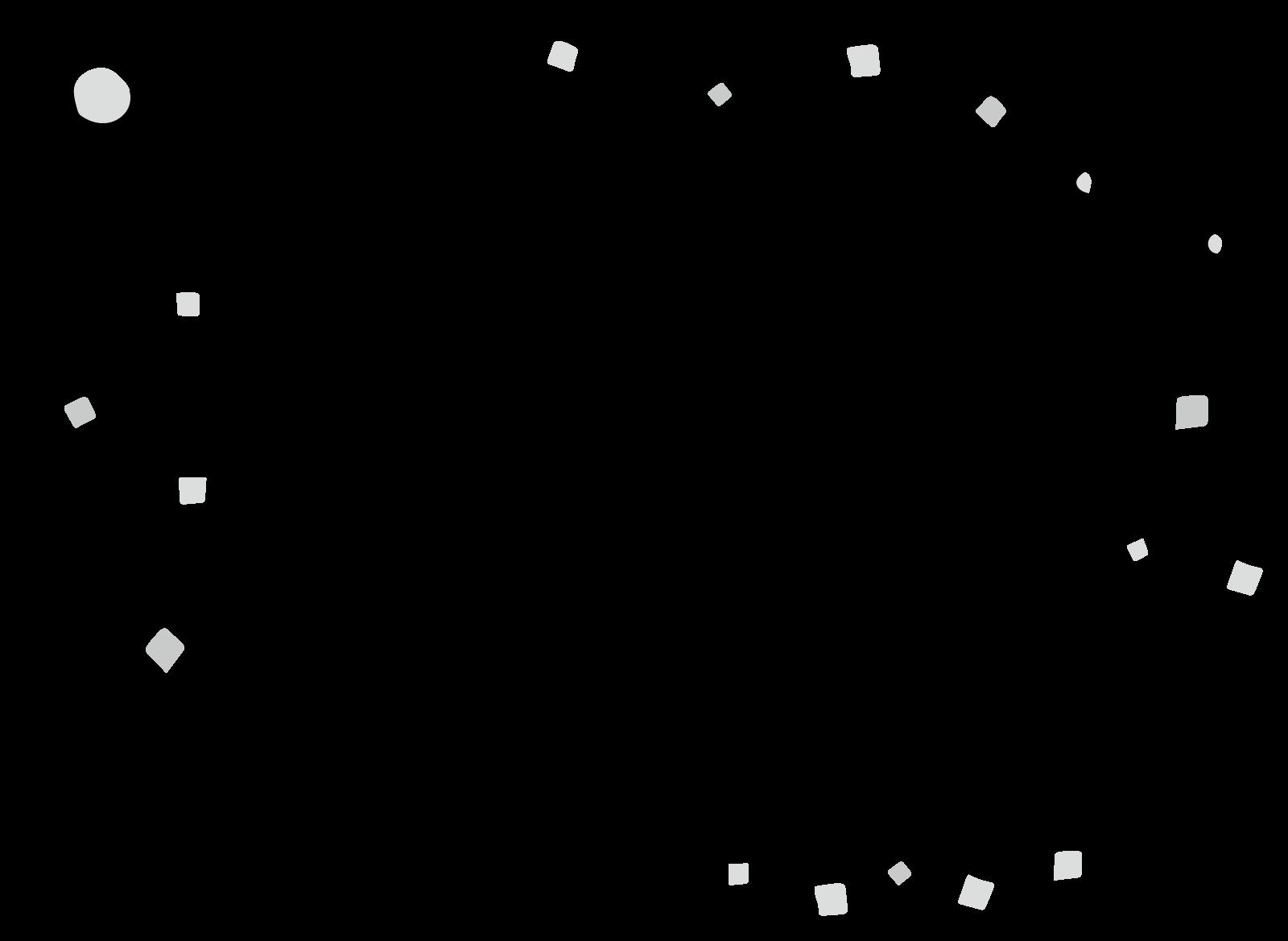 凧揚げのフレーム枠背景イラスト画像素材(白黒、モノクロ)