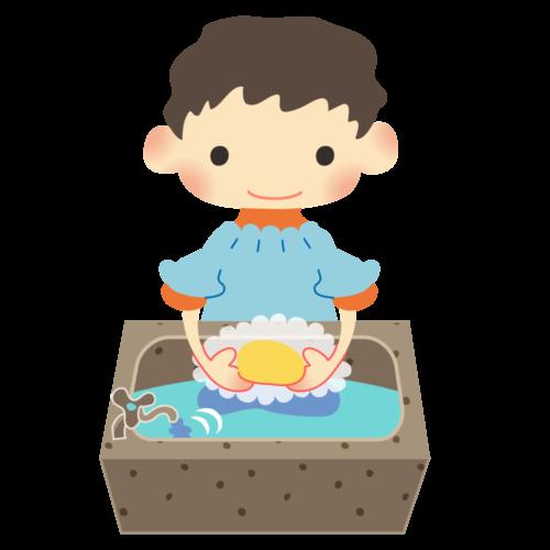 石鹸 手洗い イラスト