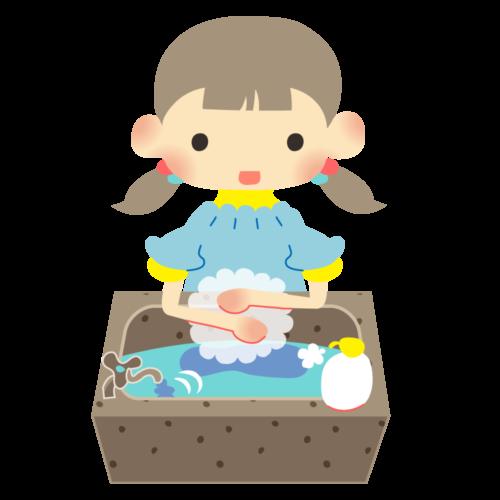 手洗い 幼児 イラスト かわいい