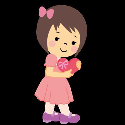 子供 バレンタイン イラスト 無料 フリー