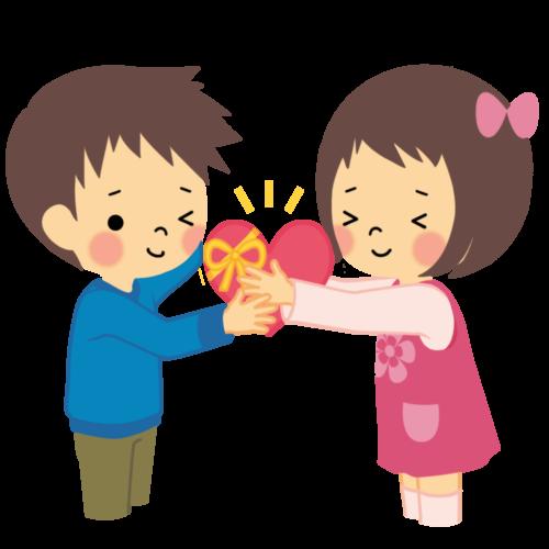 幼稚園 バレンタイン イラスト 無料 フリー