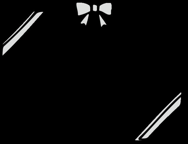 バレンタイン フレーム 枠 イラスト 白黒 モノクロ