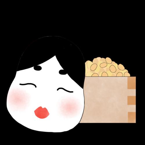 おたふく 豆 イラスト フリー 無料