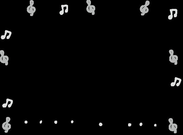 ひな祭り フレーム 枠 イラスト 白黒 モノクロ