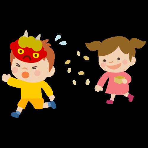 幼稚園 節分 イラスト 無料 フリー