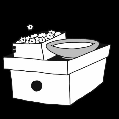 ひな祭り お菓子 ひなあられ イラスト フリー 無料 白黒 モノクロ