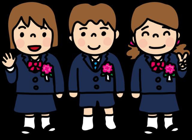 卒園 入学式 男の子 女の子 かわいい イラスト 無料 フリー