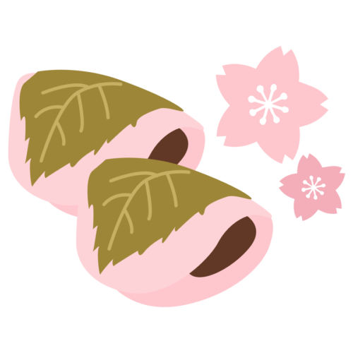 薄皮 桜餅 かわいい イラスト フリー 無料