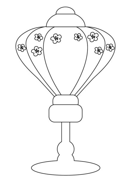 ひな祭り 雪洞 かわいい イラスト フリー 無料 白黒 モノクロ